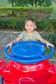 Roztomilý asijský kluk — Stock fotografie