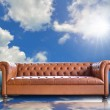 Vintage sofa — Stock Photo