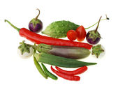 Group of raw vegetable — Stock Photo