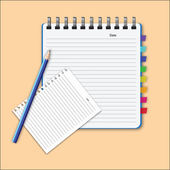 Blank paper — Stock Vector