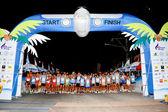 Maratón de la isla de samui 2011 — Foto de Stock