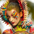 Samui body painting — Stock Photo #8200820
