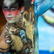 Samui body painting — Stock Photo #8201249