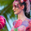 Samui body painting — Stock Photo #8202278