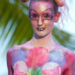 Samui body painting — Stock Photo #8202303