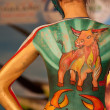 Stock Photo: Samui body painting