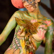 samui body painting — Stock Photo #8203047