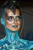 Samui body painting — Stock Photo