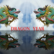 Dragon year - Zdjcie stockowe