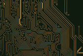 Inside computer — Stock Photo