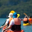 Stock Photo: Kayaking