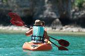 Kayaking — Foto Stock