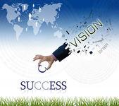 Redacción de negocios — Foto de Stock