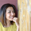 Cute asian woman — Stock Photo