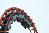 Roller coaster. — Stock Photo