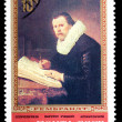 Postal stamp. Portrait of the scientist, 1983 — Stok fotoğraf