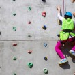 Young Climber - Stock Photo