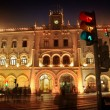 Stock Photo: rossio train station