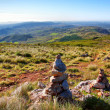 Stone Cairns - Stock Photo