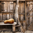 Stock Photo: Wooden shack