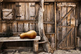 Wooden shack — Stock Photo