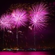 Colorful Fireworks — Foto de Stock