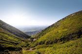 Hills landscape — Stock Photo