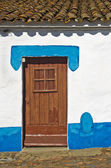 Home door — Stock Photo