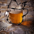 Beer of the mandrel - Stock Photo