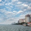 Economic capital of kerala - Kochi's skyline — Stock Photo #10649743