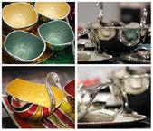 Decorative utensils — Stock Photo