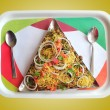 Indichaat snack masalor sev puri — Stock Photo #8504741