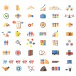 Web Icons, Internet & Website icons, signs and symbols — Vettoriale Stock #9019156