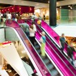Pink Escalator — Stock Photo #9889727