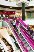 Pink Escalator — Stock Photo