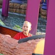 Boy on fairground — Stock Photo #10343090