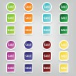 Sale buttons — Stock Vector #8406206