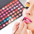 Stock Photo: Make-up lipstick