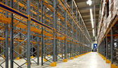 Large industrial warehouse — Stock Photo