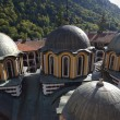 Rooftops of Rila monastery — Stock Photo