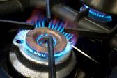 Gas hob — Stock Photo