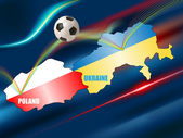 Euro 2012 — Stock Vector