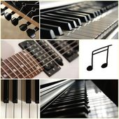 Musical instruments — Stock Photo
