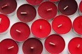 Kırmızı mumlar — Stok fotoğraf