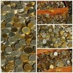 Money, coins — Stock Photo #10246302