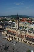 Main Square, Cracow — Stockfoto