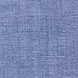 Blue linen texture for the background — Stock Photo