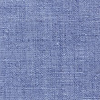 Stock Photo: Blue linen texture for the background