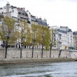 Shore of Seine — Foto de stock #10196362