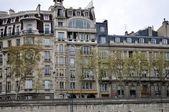 The shore of Seine.Paris. — Stock Photo